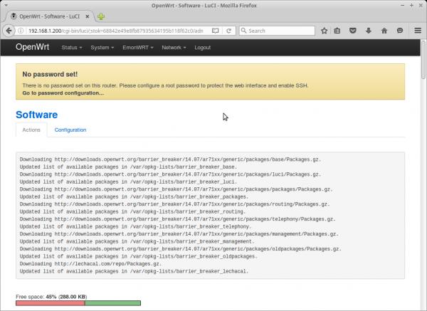 Openwrt Install Luci